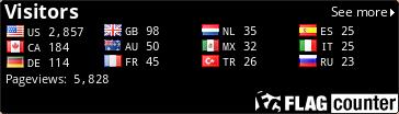 http://flagcounter.com/count/4Iux/bg=000000/txt=FFFFFF/border=000000/columns=4/maxflags=12/viewers=0/labels=1/pageviews=1/