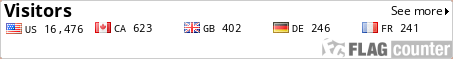 http://flagcounter.com/count/MK8p/bg=FFFFFF/txt=000000/border=CCCCCC/columns=5/maxflags=5/viewers=0/labels=1/